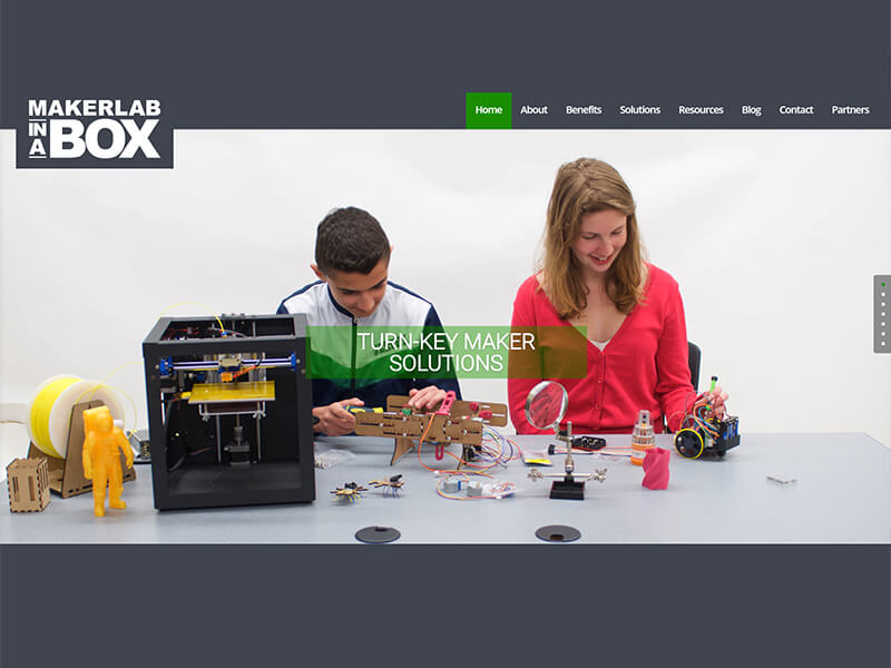 Maker Lab in a Box Website